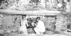 Verteidigungsstellung der US-Marines auf Guadalcanal