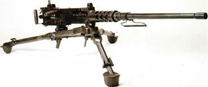 Browning 12,7-mm schwere Maschinengewhr auf Dreibein