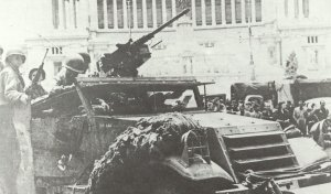 M2-MG auf  Halbkettenfahrzeug