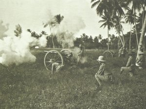leichte Feldkanone der deutschen Schutztruppe