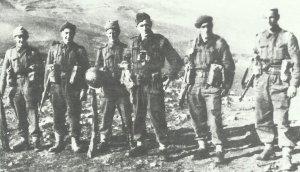 britische Patrouille in Tunesien