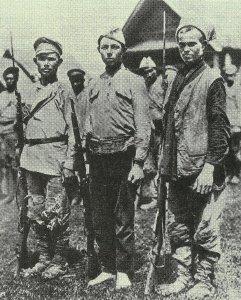 Soldaten der sozialistischen Revolution