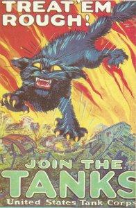 Rekrutierungsplakat für das US Tnak-Korps