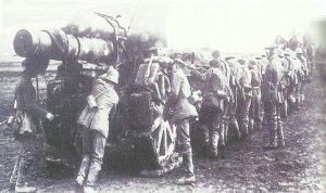 deutsche 21-.cm-Haubitze