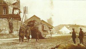 Tank Mark IV in Peronne