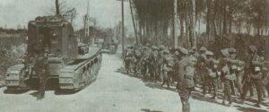 Whippet-Panzet des 3. Bataillon des Tank-Korps