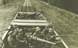 deutscher Panzerzug in Finnland