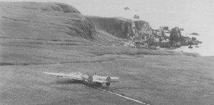 B-24 Liberator Notlandung