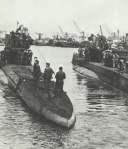 deutsches U-Boot in Brest