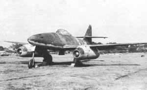 revolutionäre doppelstrahlige Messerschmitt Me 262 Düsenjäger
