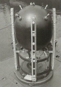Mine Nordsee-Sperre 1918