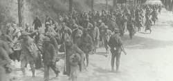 Französische Kriegsgefangene Aisne