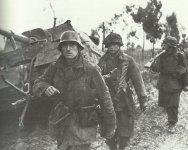 Infanteristen einer Luftwaffen-Einheit