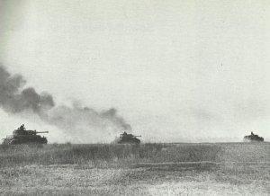 Deutsche Panzer rollen auf Prochorowka vor