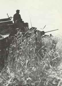 Deutsche Panzer Raum Belgorod.