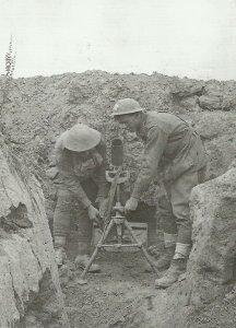 76,2-mm-Stokes-Granatwerfer der australischen Truppen