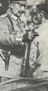 Kaiser beim Besuch der Krupp-Werke