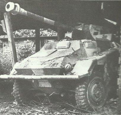 Schwerer Panzerspähwagen (7,5cm Pak40) SdKfz 234/4