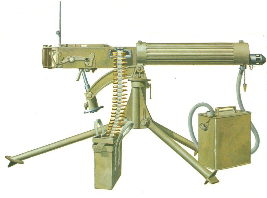 Vickers-Maschinengewehr