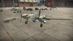 Bf 110G in War Thunder