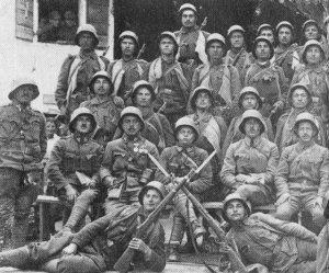 Österreich-ungarische Sturmtruppen