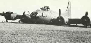 B-17 Notlandung Schweiz