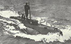 Klein-U-Boote vom Typ 'X-Craft'