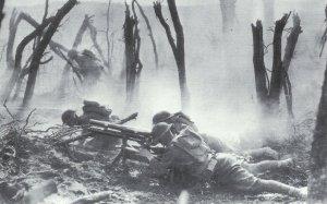 US-Truppen in schweren Kämpfen in den Argonnen