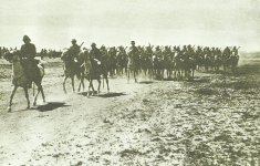 Türkische Kavallerie aus Mosul