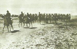 Türkische Kavallerie aus Mossul
