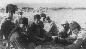 Türkische Offiziere, gefangen genommen Damaskus