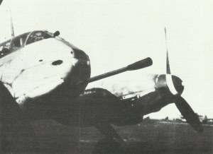 Me 410 mit 5-cm-Kanone