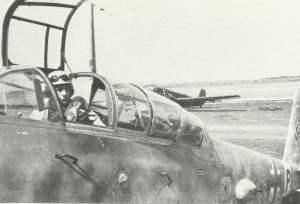 Me 410 im Cockpit
