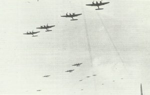 Zerstörer Me 410 von II./ZG26
