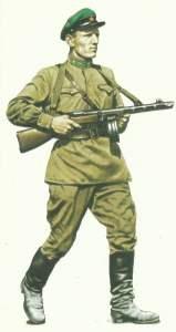 Angehöriger der Grenztruppen des NKWD