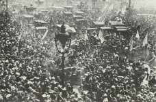 Waffenstillstands-Feiern in Paris