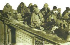 Serbische Flüchtlinge