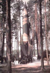 Abschuss einer V-2-Rakete