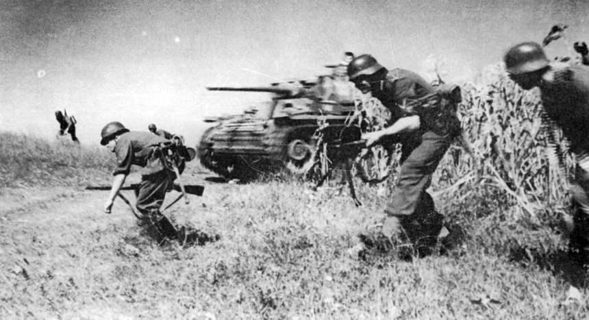 Angriff der Division 'Grossdeutschland'