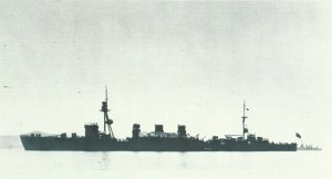 japanische leichte Kreuzer 'Kuma'