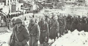 Soldaten einer nordafrikanischen Einheit von Juins französischem Korps