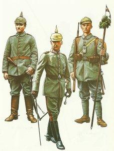 Bayerische Uniformen 1. WK