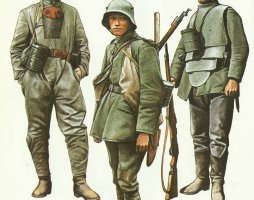 Deutsche Uniformen 1916-1918