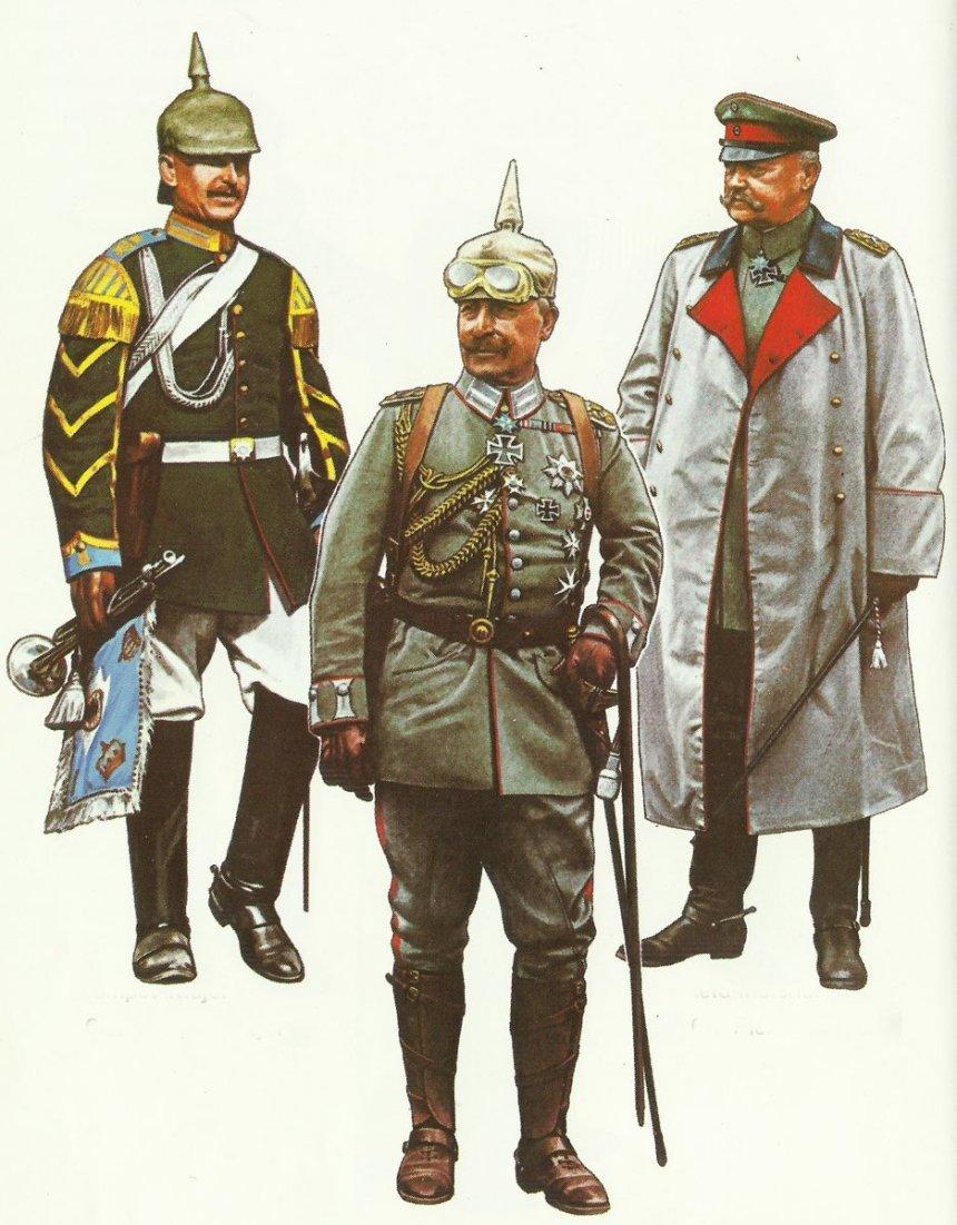 Uniformen deutsche Generalstabsoffiziere