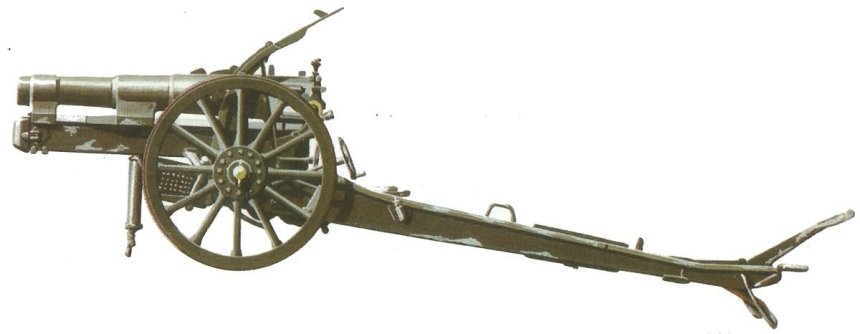 149-mm-Feldhaubitze Skoda Modell 14