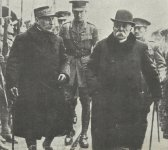 Foch und Clemenceau