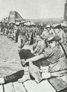 Australische Kommandotruppen von Wingates Chindits