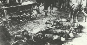 Opfer des Flächenbombardements