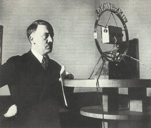 Hitler erste Rundfunkrede