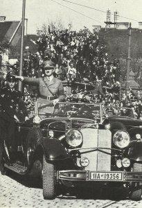 Hitler fährt nach Wien